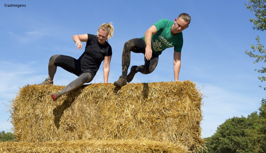 Liberation Obstacle Run. (Foto: Ad Megens)  © Kliknieuws Oss