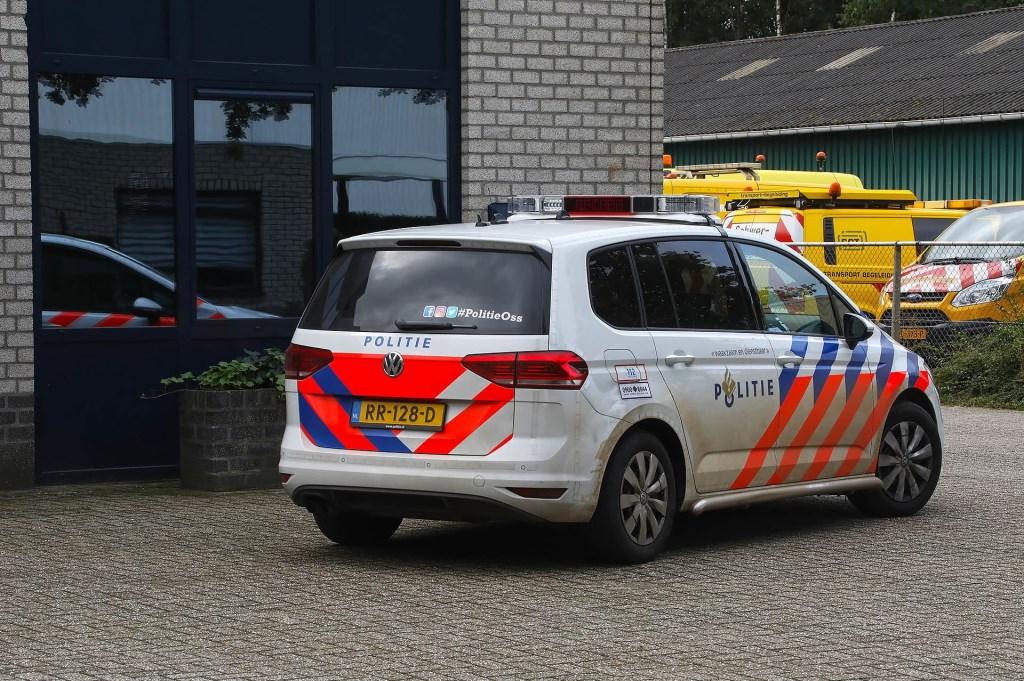 Grote hoeveelheid gestolen auto-onderdelen aangetroffen in Oss' pand. (Foto: Gabor Heeres / Foto Mallo)  © Kliknieuws De Maas Driehoek