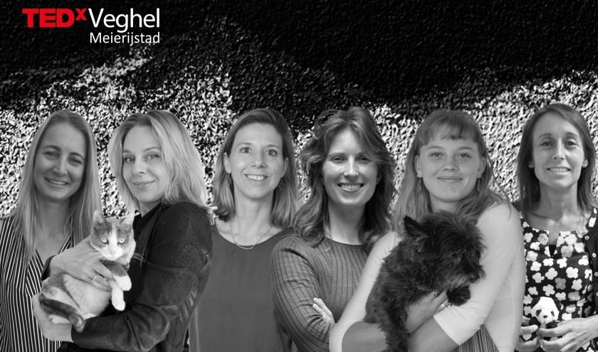 De zes vrouwen die spreken op TEDxVeghel.