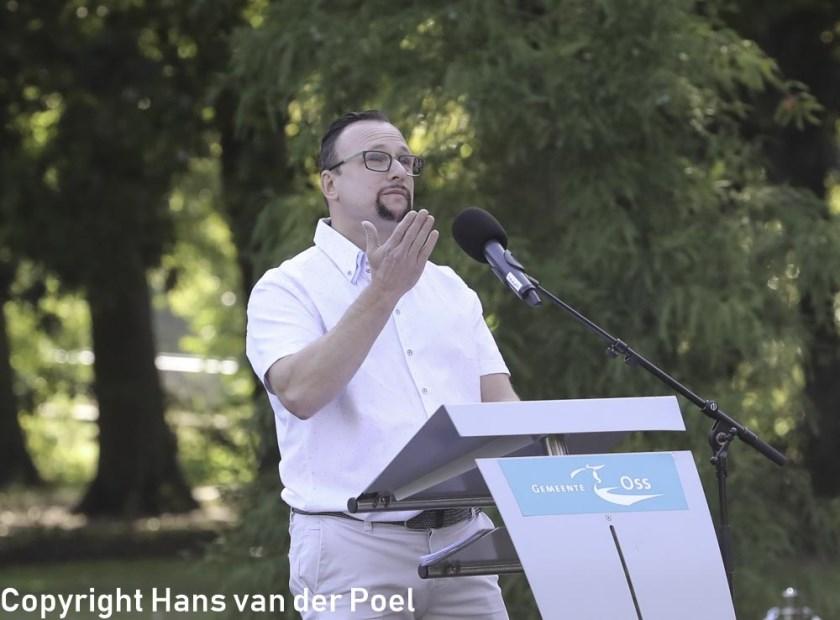 De vader van Dana en Liva. (Foto: Hans van der Poel)
