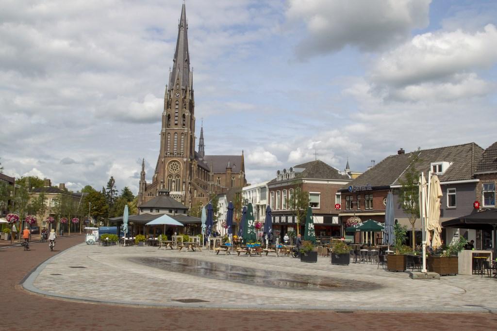 De hoofdstructuur voor Veghel (Hoofdstraat van Markt tot Meijerijplein) was al vastgelegd in de centrumvisie. Foto: Jowin Boerboom © Kliknieuws Veghel