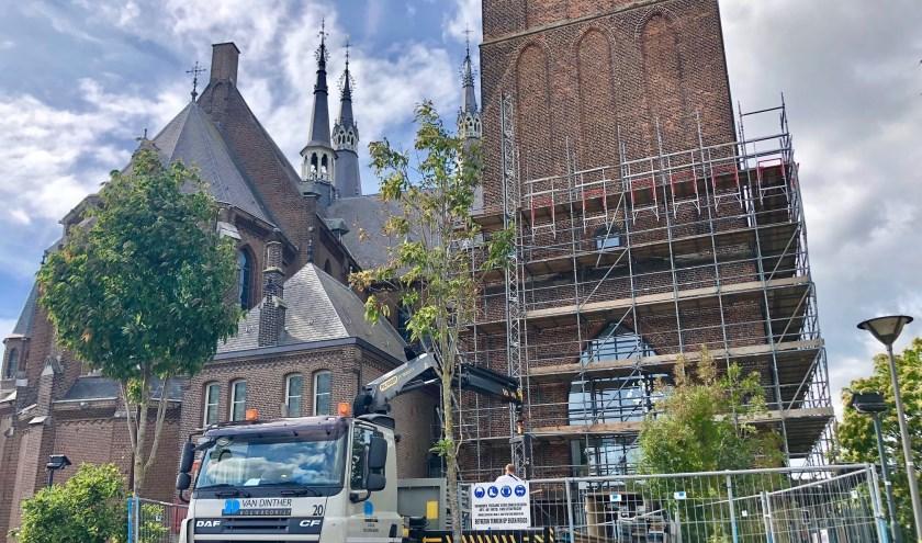 De Museumtoren in Cuijk krijgt een opknapbeurt.