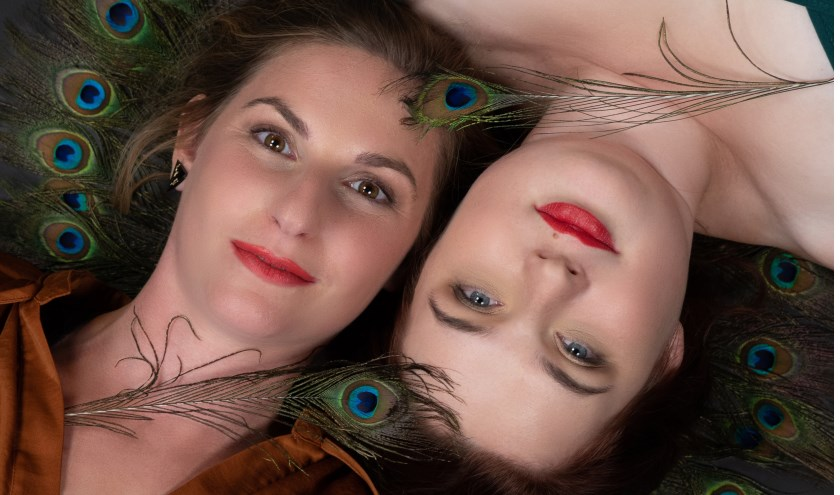 Het duo De Prima Donna's bijt het spits af tijdens de eerste editie van Goedemorgen Noordkade!