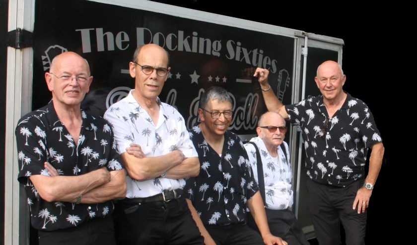 De mannen van The Rocking Sixties.