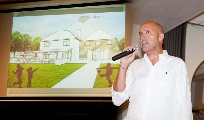 Paul van der Mark presenteerde in 2015 al zijn plannen voor de Bungelaar.