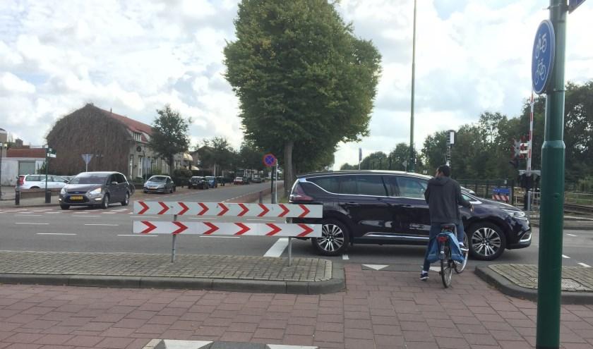 Het Schilderspad in Boxmeer gaat afgesloten worden.