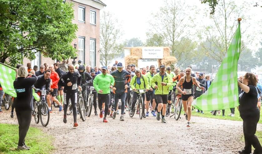 De Raamvallei Duomarathon in en rond Mill beleeft de vijfde editie.