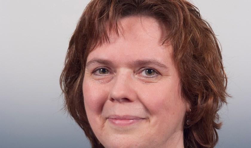 Anne Derks, fractievoorzitter van de VierKernenPartij.