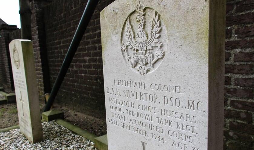 Het tragische verhaal van de Brit David Silvertop, begraven in Sint Anthonis, komt aan bod in de tentoonstelling 'Facing Freedom'.