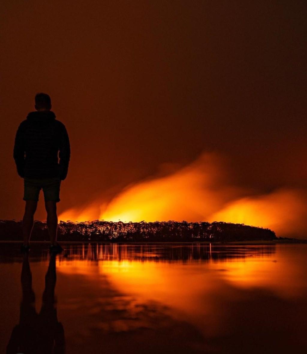 De bosbranden in Australië laten diepe sporen achter bij de lokale bevolking.  © Kliknieuws De Maas Driehoek