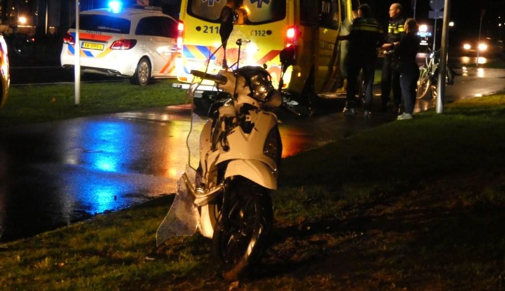 Twee gewonden bij ernstig ongeval op Gasstraat-Oost. (Foto: Thomas)  © Kliknieuws Oss