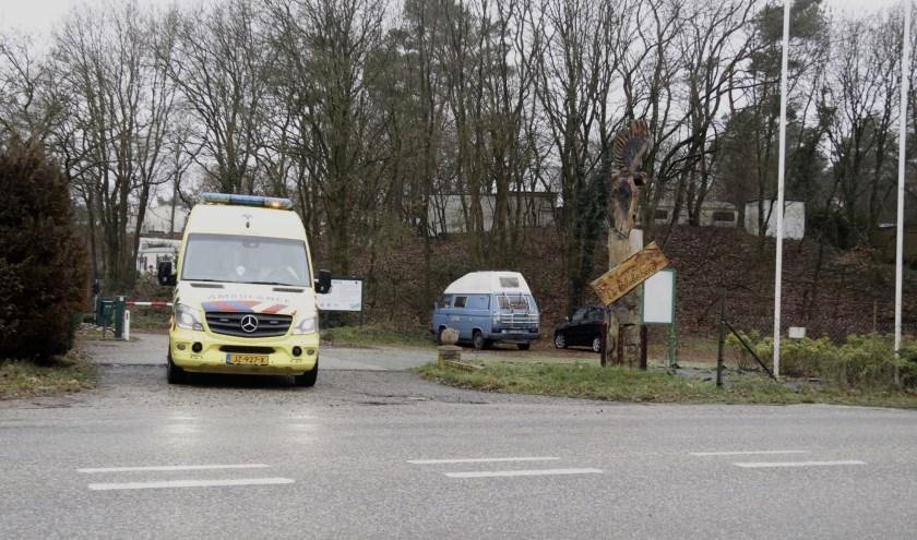 Duiker in de problemen in Gennep, meerdere hulpdiensten ter plekke.