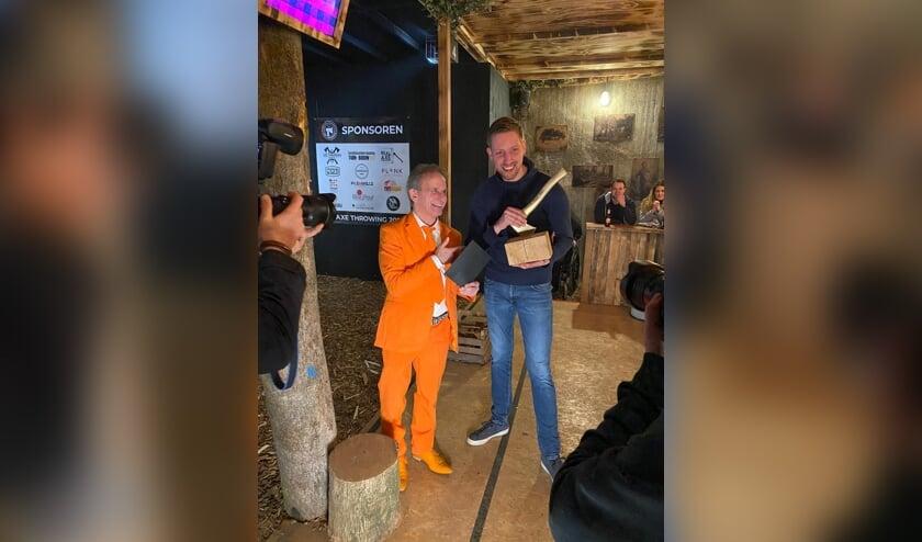 Winnaar Paul Kleine met John Vlemmix.