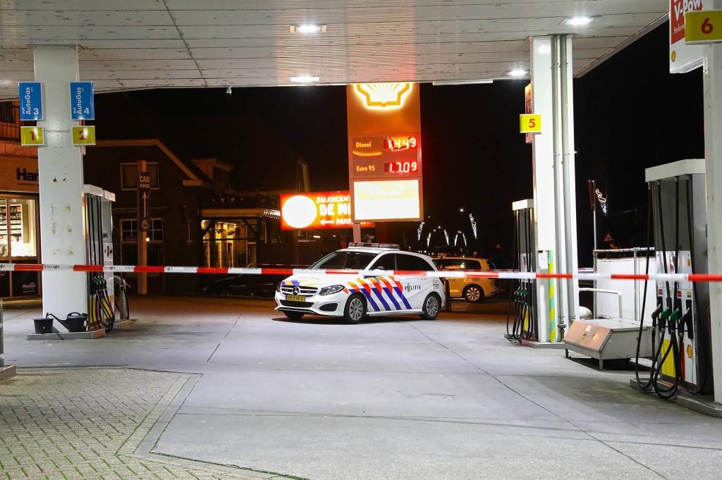 Politie onderzoekt overval in Berghem. (Foto: Gabor Heeres, Foto Mallo)  © Kliknieuws Oss