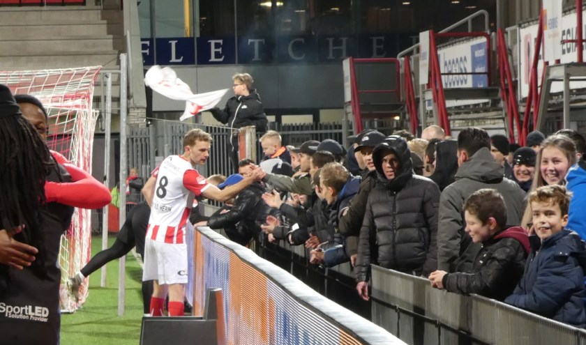 TOP Oss won van Cambuur. (Foto: Thomas)