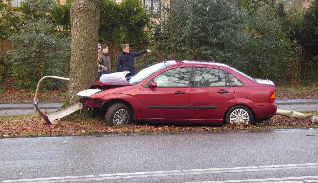 Ongeval op Heihoeksingel. (Foto Thomas)  © Kliknieuws Oss