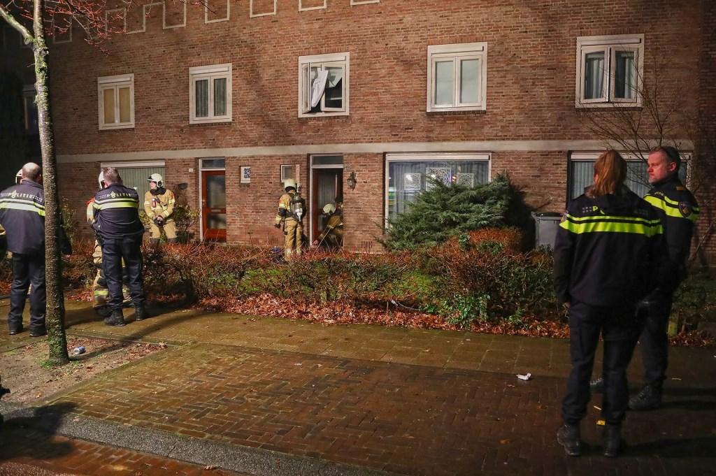 Brandweer in Singel 1940-1945. (Foto: Gabor Heeres, Foto Mallo)  © 112 Brabantnieuws