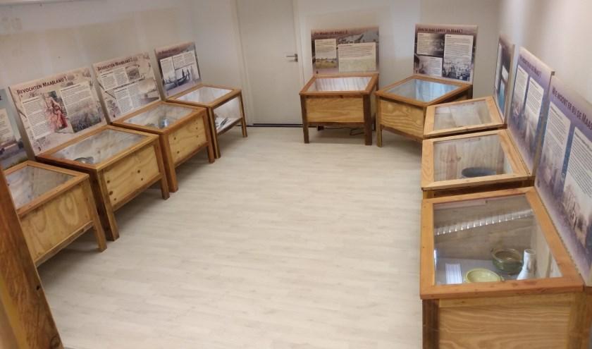 Een tentoonstelling bij de VVV winkel in Oss.