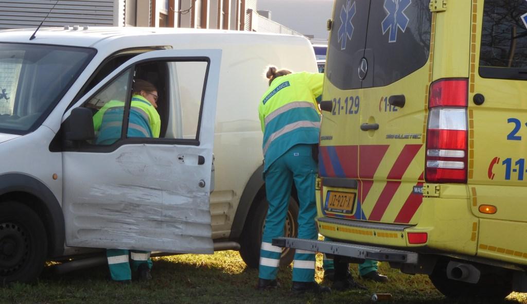 Ongeval in Oss. (Foto: Thomas)  © 112 Brabantnieuws