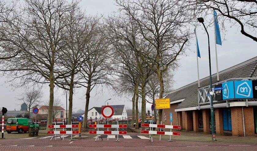 Irenestraat is afgesloten.