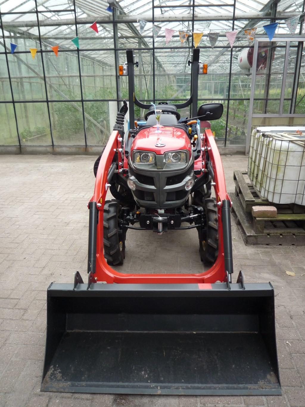 Aangepaste tractor gestolen op Bronlaak in Oploo.  © 112 Brabantnieuws