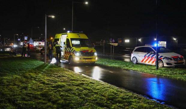 Twee gewonden bij ernstig ongeval op Gasstraat-Oost. (Foto: Gabor Heeres, Foto Mallo)  © Kliknieuws Oss