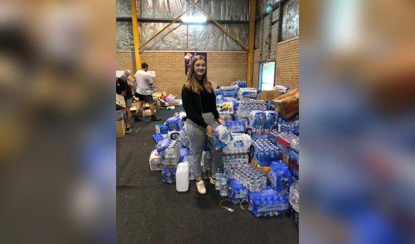 Helena Zuil uit Oploo verricht vrijwilligerswerk in een opvangcentrum voor slachtoffers van de bosbranden in Australië.