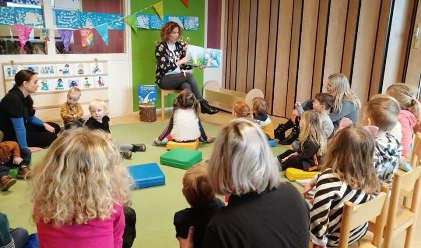 Marieke van Creij, werkzaam bij gemeente Meierijstad, ging vrijdagochtend op bezoek bij 't Kroontje.
