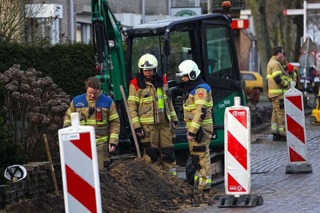 De brandweer in Geffen. (Foto: Gabor Heeres, Foto Mallo)  © 112 Brabantnieuws