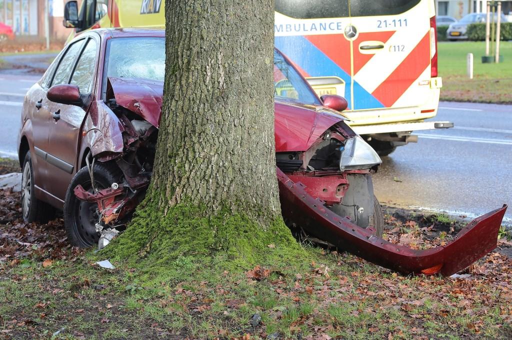 Ongeval op de Heihoeksingel. (Foto: Charles Mallo, Foto Mallo)  © Kliknieuws Oss