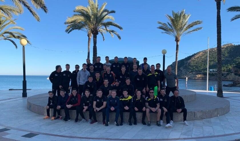 <p>Spaans 'trainingskamp' voor titelkandidaat Nulandia</p>