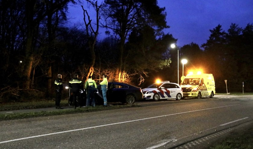 Ongeluk op Siebengewaldseweg in Gennep: auto's flink beschadigd.