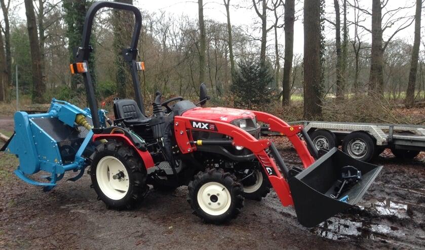Aangepaste tractor gestolen op Bronlaak in Oploo.