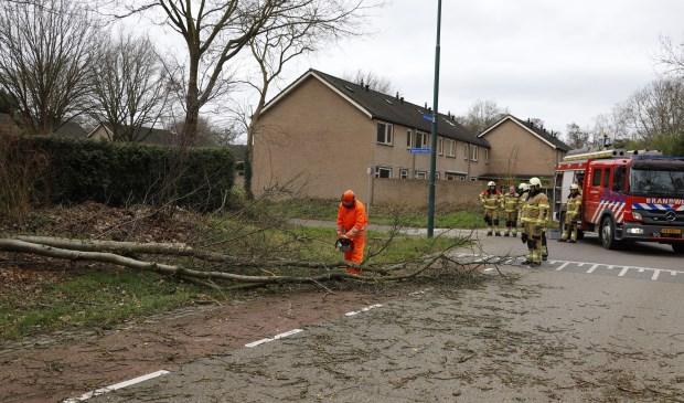 Stormschade aan de Hagelkruis in Cuijk. Foto: SK-Media © 112 Brabantnieuws