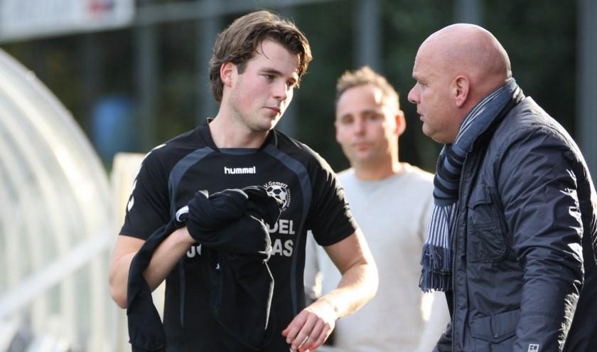 Vincent Buijssen een van de vele blessure gevallen bij Volharding