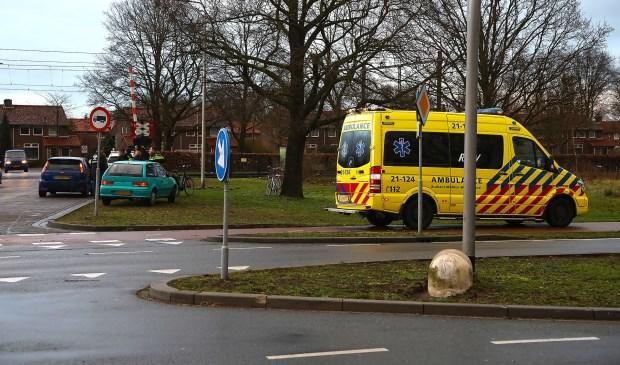 Ongeval op kruising. Foto: Gabor Heeres / Foto Mallo,   © Kliknieuws Oss