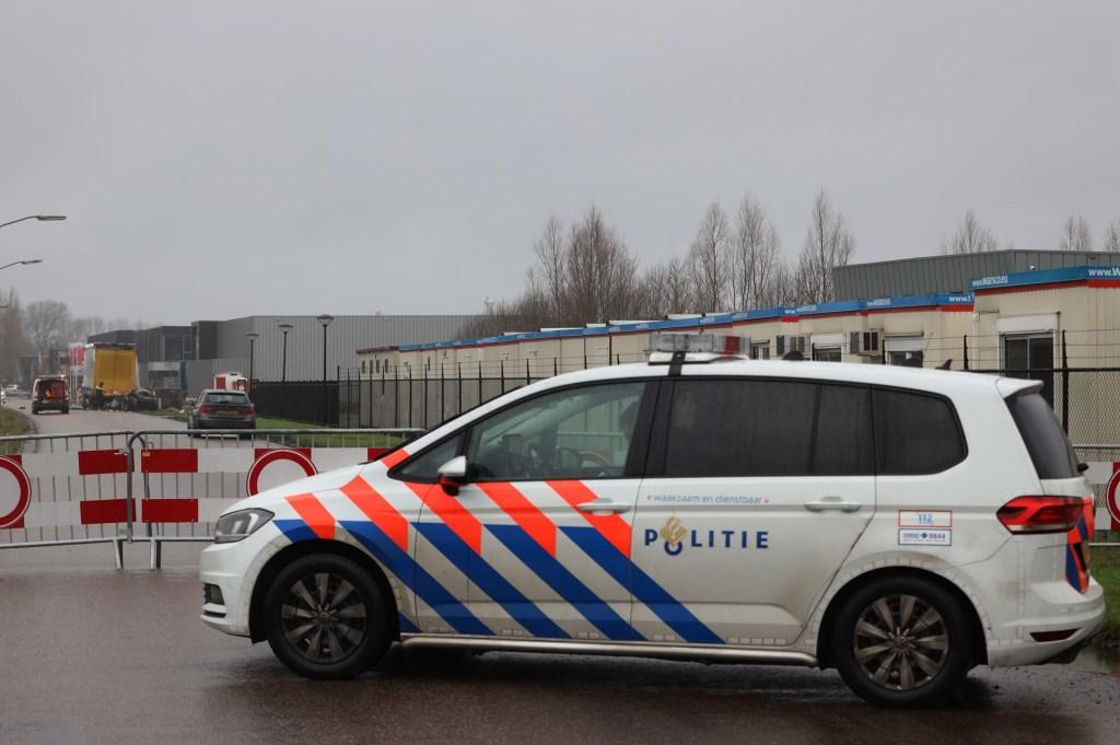 Dode bij ongeval op de Bulk in Ravenstein. (Foto: Marco van den Broek)  © 112 Brabantnieuws