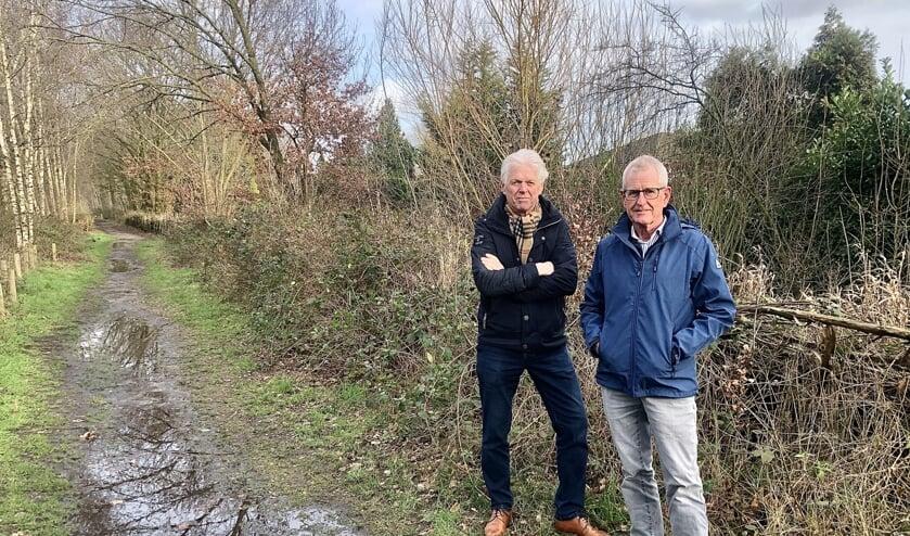 Christ Raaijmakers (L) en Ad van der Steen  (R) zijn de aanjagers van 'Red de Spoordijk'.