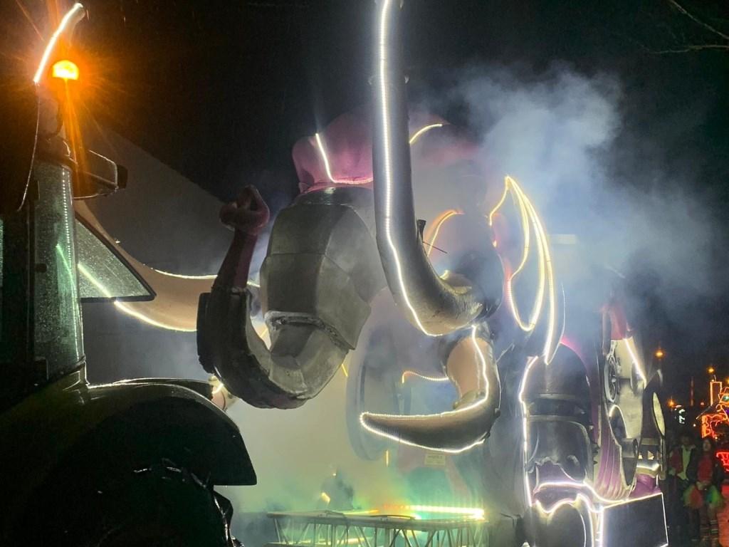 Lichtjesoptocht in Boxmeer. Foto: De Maas Driehoek © Kliknieuws De Maas Driehoek