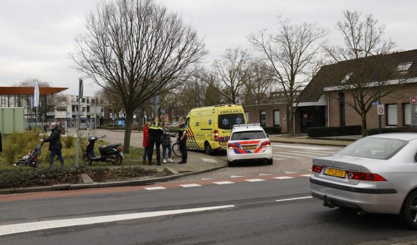 Scooterrijder onderuit in Boxmeer.