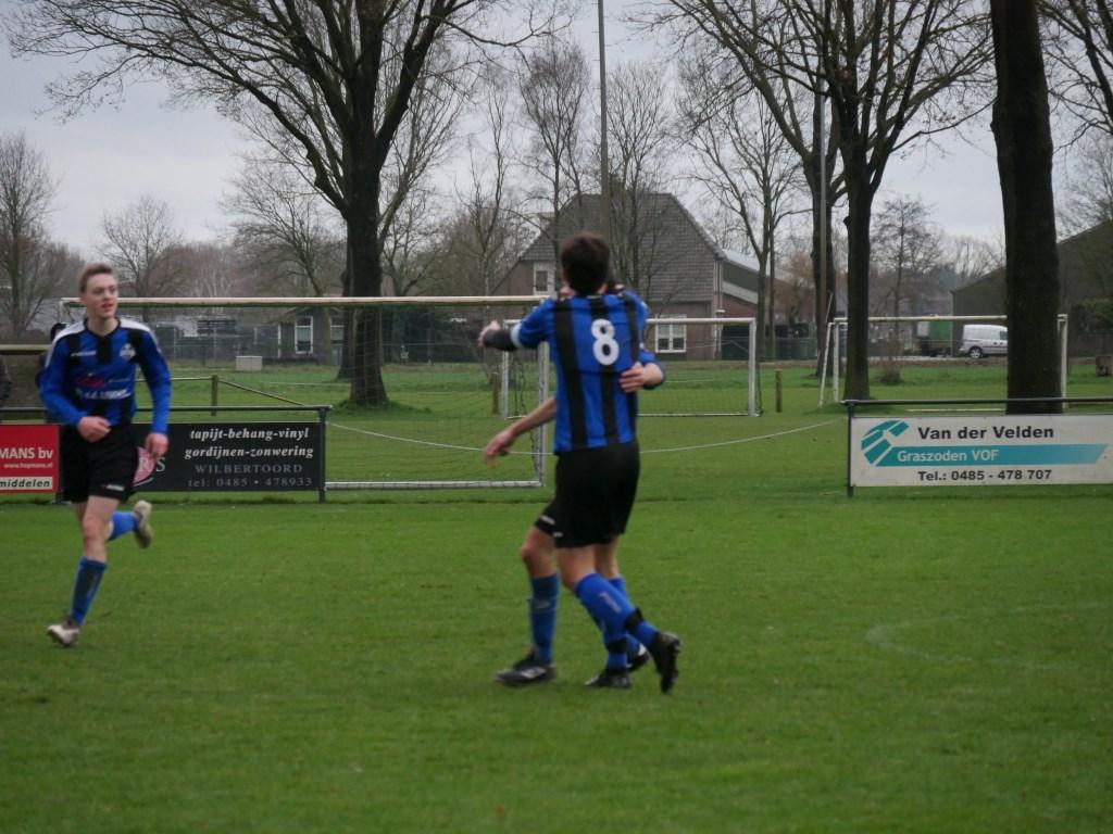 DWSH'18 was thuis een maatje te groot voor HBV. Foto: Heidi Willems/Voetbal-shoot.nl © Kliknieuws De Maas Driehoek