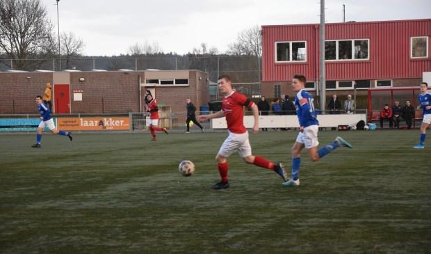 JVC Cuijk was thuis te sterk voor Woezik. Foto: Voetbal-shoot.nl/Chanel Willems © Kliknieuws De Maas Driehoek
