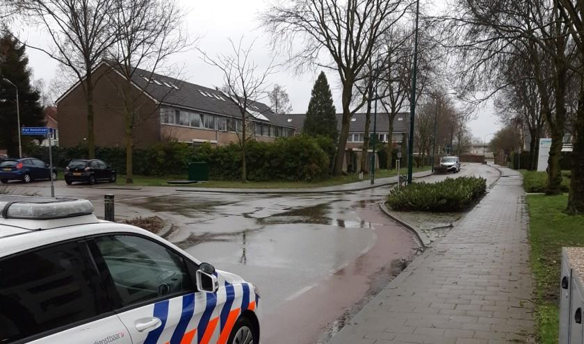 De aanrijding vond plaats op De Raetsingel, ter hoogte van de kruising met de Piet Heinstraat.