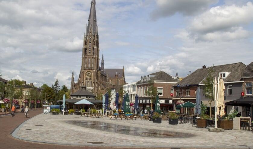 De Sint-Lambertuskerk in Veghel