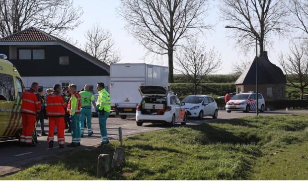 Steekpartij in Megen. (Foto: Gabor Heeres / Foto Mallo)  © 112 Brabantnieuws