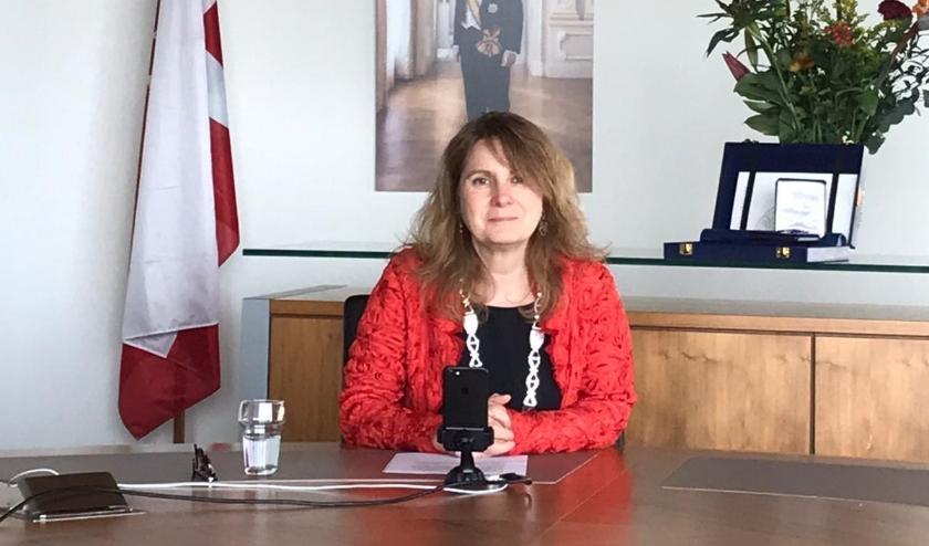 Burgemeester Marieke Moorman van de gemeente Bernheze.