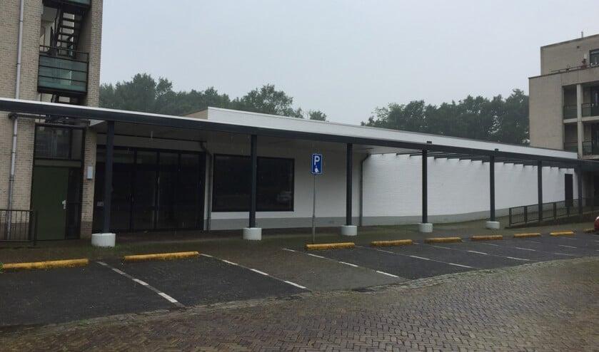 Het pand aan de Berenkuil in de Cuijkse wijk Padbroek, waar tot 2013 de Lidl was gevestigd.