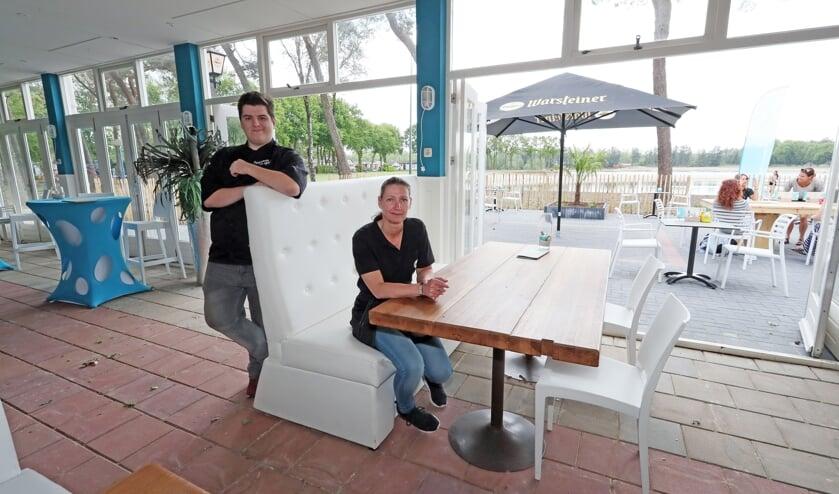 Aaron en Sandra van Beek van Beachclub de Maashorst.