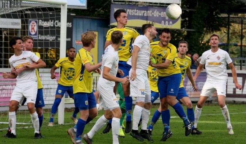 <p>Archieffoto FC Lisse - Blauw Geel&#39;38 vorig seizoen</p>
