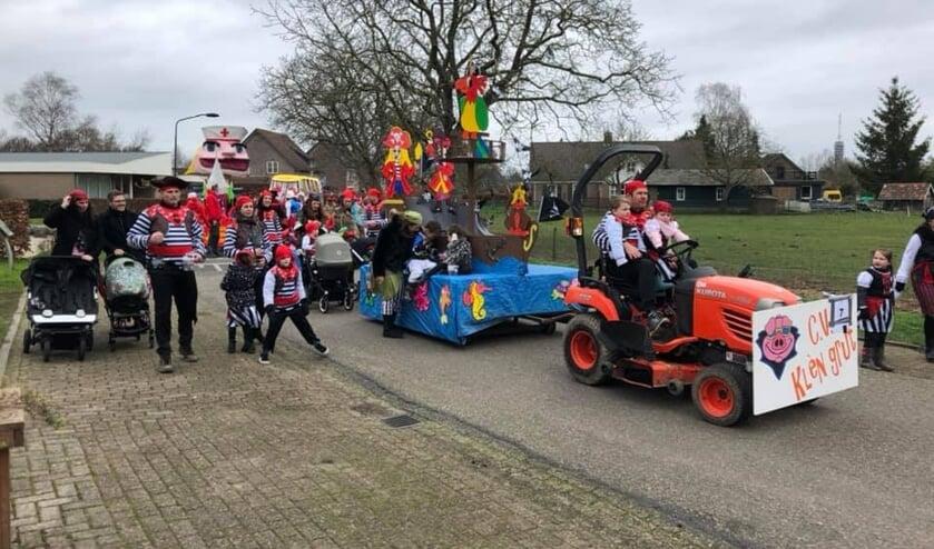 Carnaval in Haren. (Foto: CV De Knorrepotten, Facebook)